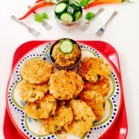 CAULIFLOWER PATTIES - BREAKFAST/KIDS LUNCH BOX
