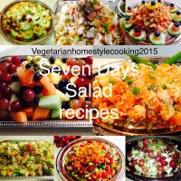 SEVEN DAYS SALAD RECIPES
