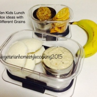 100 KIDS LUNCH BOX IDEAS - VEGETARIAN - 5 INGREDIENTS - 15 MINUTES COOKING TIME
